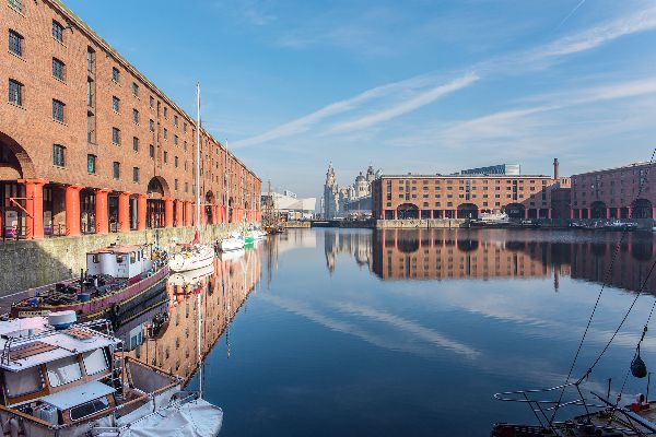 Albert Dock and architecture, Liverpool